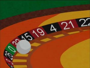 Odds on double zero in roulette